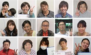 改善されたお客様の笑顔の写真